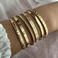 Exotique élégant Alliage Bracelets (Lot de 6)