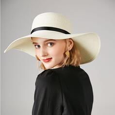 Ladies'/Women's Classic/Simple Polyester Panama Hats