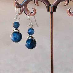 Vintage Alloy With Imitation Stones Women's Earrings