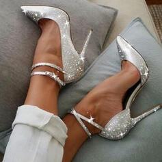 Women's Sparkling Glitter Stiletto Heel Pumps Heels With Sparkling Glitter shoes