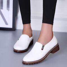 Femmes PU Talon bas Escarpins avec Autres chaussures