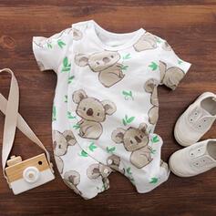 bébé Imprimé Coton Une pièce