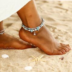 À la mode Refroidir Alliage Bijoux de plage Bracelets de cheville