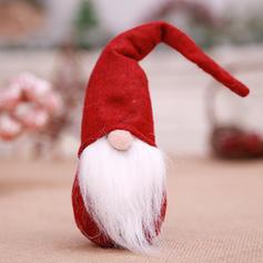 Noël Gnome joyeux Noël Dessus de la table Tissu non tissé Ornements de noël Gnome