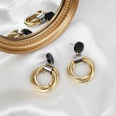 Beautiful Fashionable Simple Pretty Alloy Women's Earrings