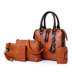 Classique/Style Vintage Sac en bandoulière/Boston Sacs/Ensembles de sac/Portefeuilles et Bracelets