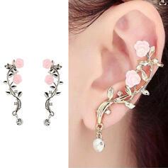 Beautiful Stylish Boho Alloy With Flowers Women's Ladies' Girl's Earrings