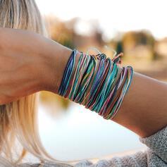 Coloré Bohème Alliage Corde tressée Bracelets