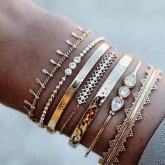 Unique Romantic Alloy Women's Ladies' Girl's Bracelets 7 PCS