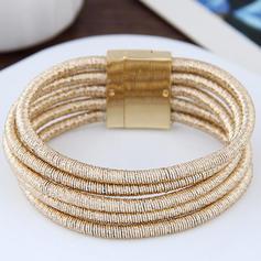 Simple Alliage Dames Bracelets