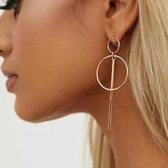 Exquis Charme Alliage Boucles d'oreilles