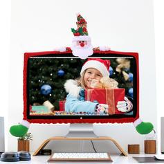 Noël joyeux Noël Bonhomme de neige Renne Père Noël Tissu non tissé Ornements de noël