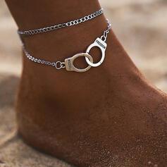 Alliage Bijoux de plage Bracelets de cheville