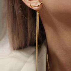 élégant Charme Alliage Boucles d'oreilles