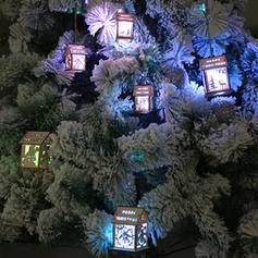 Noël joyeux Noël Pendaison Maison En bois Artisanat de bricolage