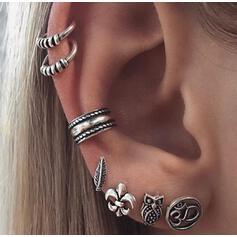 Exotique Bohème Alliage Boucles d'oreilles 7 PCS