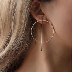 élégant Alliage Boucles d'oreilles