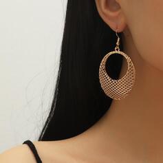À la mode Chic Alliage Boucles d'oreilles (Lot de 2)