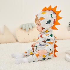 Bébé Fille P-24mois Dinosaure Faune Coton Une pièce