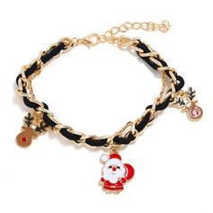 Renne de noël Noël Père noël Alliage Bracelets