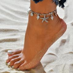étoile de mer Le plus chaud Shell en forme Alliage Bijoux de plage Bracelets de cheville