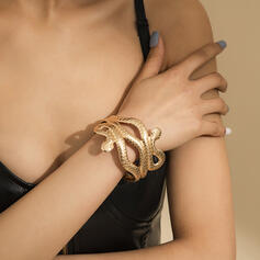 Unique Romantic Alloy With Gold Plated Women's Ladies' Girl's Bracelets 1 PC