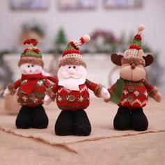Noël joyeux Noël Bonhomme de neige Renne Père Noël Tissu non tissé Sacs Apple