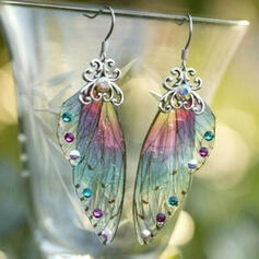 Wings Shaped Alloy With Wings Women's Earrings