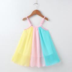 Fille 2-5ans Colourblock Mousseline Robe