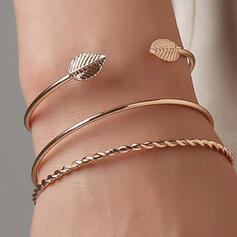 Alliage Parures Bracelets (Lot de 3)