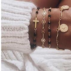 Alliage Parures Bracelets (Lot de 4)