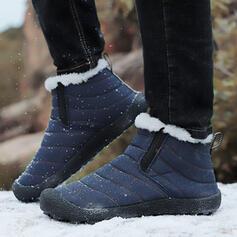 Femmes Tissu Talon plat Chaussures plates avec Bande élastique chaussures
