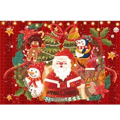 Noël Père Noël Carte Papier Ornements de noël Puzzle