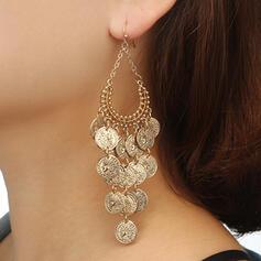 À la mode Style Classique Ovale Alliage avec Zircon de Boucles d'oreilles 2 PCS