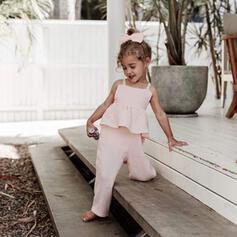 Fille 2-5ans Striped Coton Combinaison