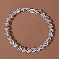 Brillant À la mode Alliage avec Strass Bracelets