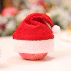 Noël joyeux Noël Tissu Chapeaux de noël Sacs Apple