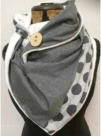 Polka Dots/Retro /Cru/Couture mode/Boho/Confortable Écharpe