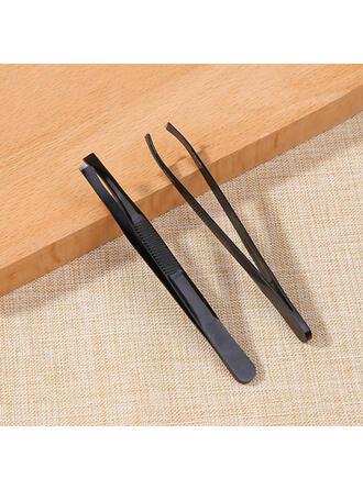 Classique Papier Plastique Pinces à épiler et outils pour sourcils avec Sac en PVC