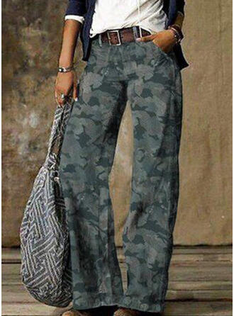 Grande taille Camouflage Tribal Ancien Jeans