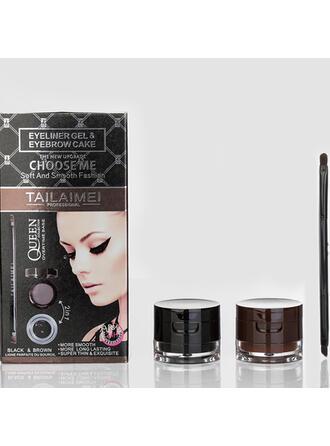 2 PCS Classique Plastique Eyeliner avec Sac en PVC