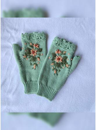 Feuilles/Crochet Poids léger/mode/Chaud Gants