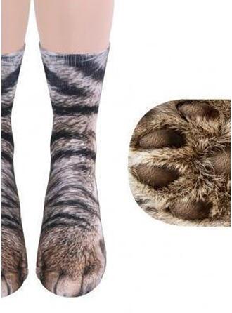 Empreinte d'animal Conçu animal Chaussettes