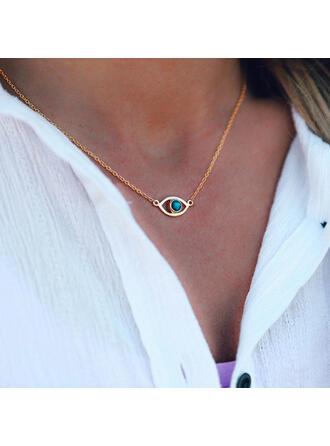 Beautiful Stylish Boho Alloy With Eye Women's Ladies' Girl's Necklaces