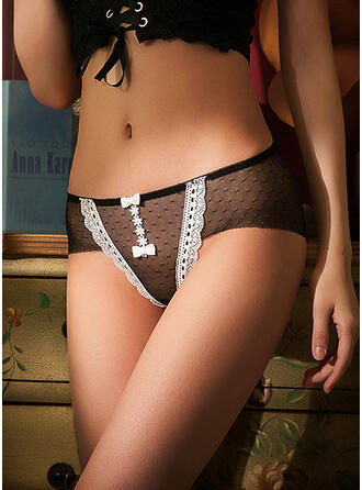 Lace Patchwork Brief Panty