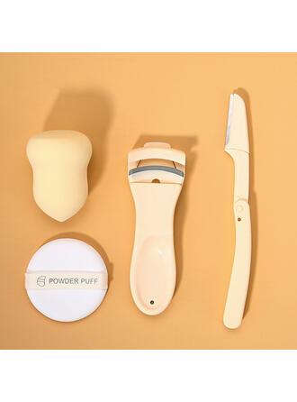 Classique Papier Éponge Pinces à épiler et outils pour sourcils Éponge de maquillage avec Sac en PVC