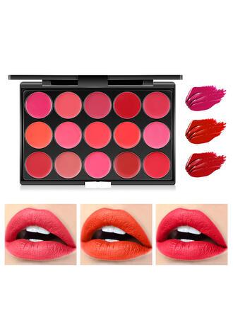 Mat Velours Pan de rouge à lèvres avec boîte