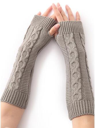 Couleur unie/Crochet simple/Confortable Gants