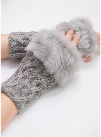 Couleur unie/Crochet mode/Confortable/aux femmes Gants
