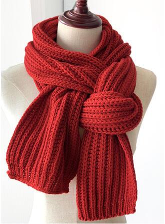Couleur unie/Crochet mode/simple/Chaud Écharpe